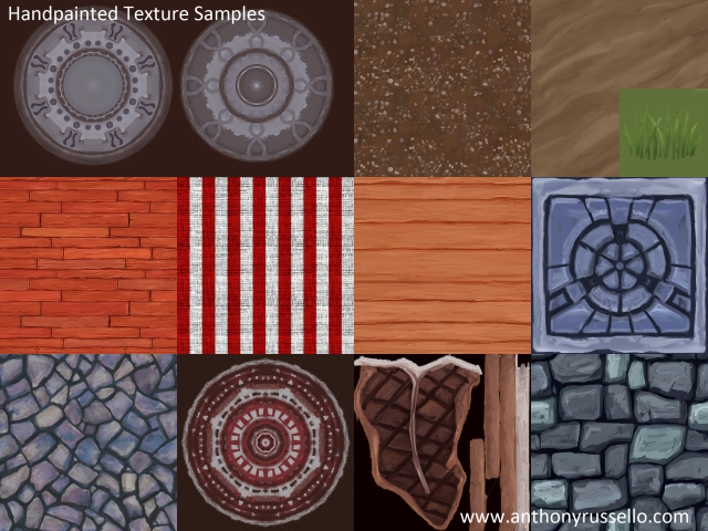 Color Map Texture Samples